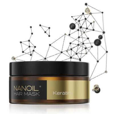la mejor mascarilla para cabello Nanoil Keratin hair Mask