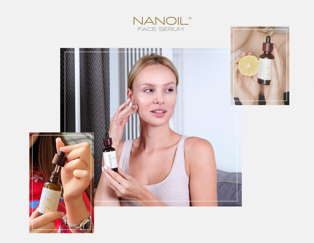 buen sérum facial de vitamina c Nanoil